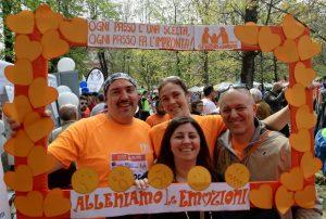 selfie milan marathon